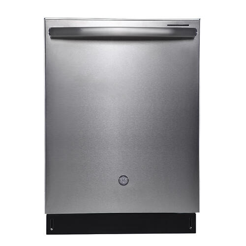 """GE Appliances Canada - GE Profile 24"""" Built-In Top Control Dishwasher with Stainless Steel Tall Tub White - PBP665SGPWW"""
