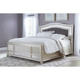 Coralayne Upholstered Panel Bed Queen