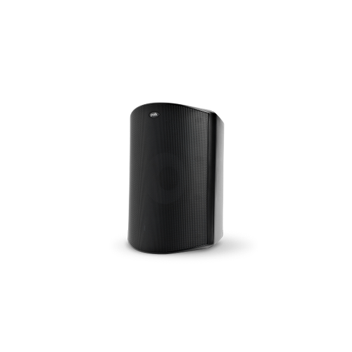 High Performance All Weather Outdoor Loudspeaker with Dual Tweeters and Power Port Bass Venting in Black