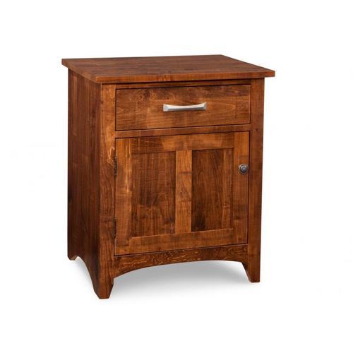 Handstone - Glengarry 1 Drawer 1 Door Night Stand w/ Power Management