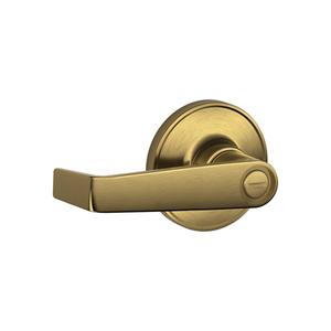 Schlage - Antique Brass Bed/Bath Lock