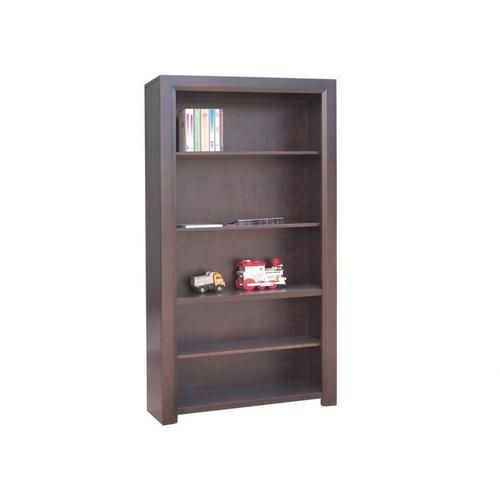 Handstone - Contempo 80'' Bookcase w/3 Adjustable shelves w/Doors