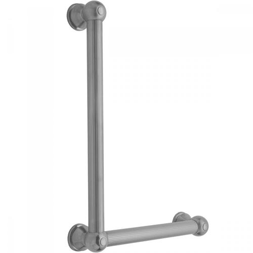 Satin Nickel - G33 24H x 16W 90° Right Hand Grab Bar