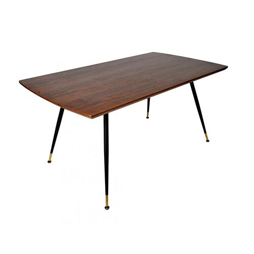 Modrest Batson Modern Walnut Dining Table