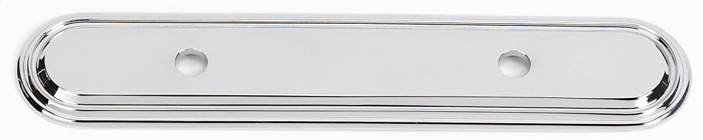 Venetian Backplate A1508-35 - Polished Chrome