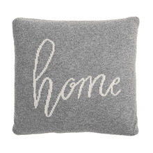 "Mini ""Home"" Pillow"