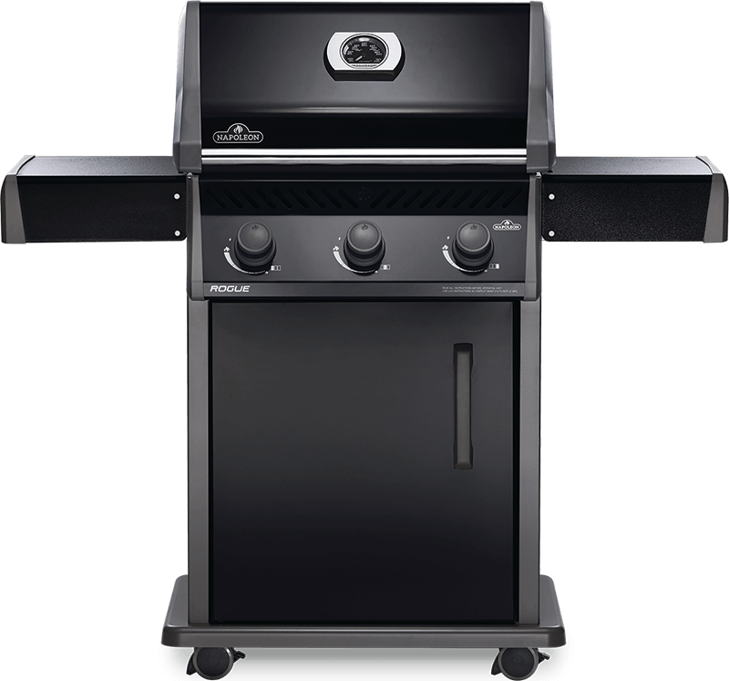 Napoleon BBQRogue 425 Gas Grill , Black , Natural Gas