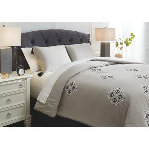 Jawanza 3-piece King Comforter Set