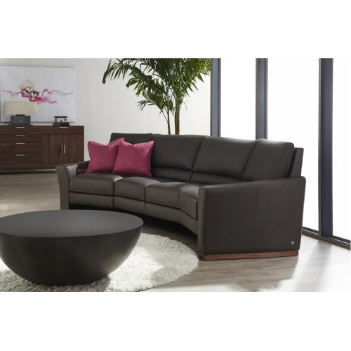 Bryant Leather Modular Sofa - American Leather