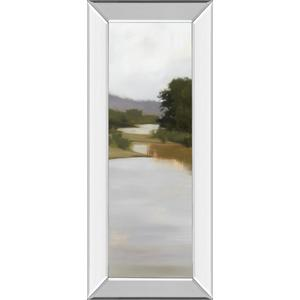 """River Journey"" By Megan Lightell Mirror Framed Print Wall Art"