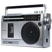 Retro Rocker Portable Boombox with Bluetooth®
