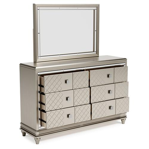 Chevanna Dresser and Mirror