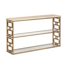 Chicklet Console Table
