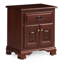 See Details - Classic Nightstand with Doors