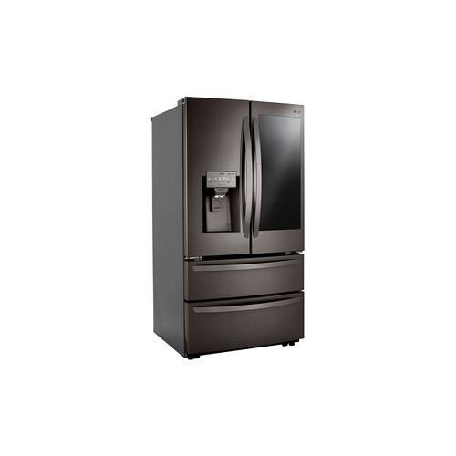 28 cu ft. Smart InstaView® Door-in-Door® Double Freezer Refrigerator with Craft Ice™