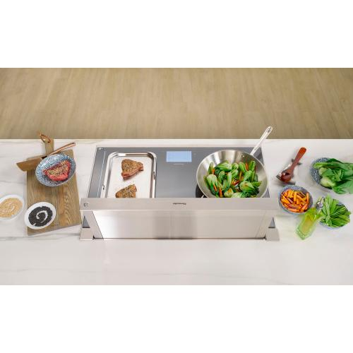 Thermador - Downdraft Ventilation 37'' Stainless Steel UCVM36XS