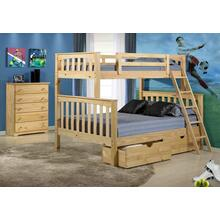 Arcadia Bunk Bed T/f With Ubc