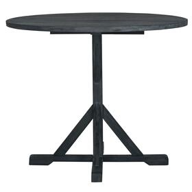 Arcata Round Table - Dark Slate Grey