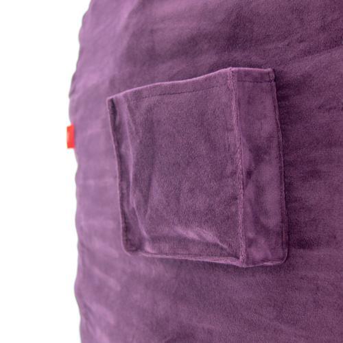 Full Chair - NEST Plush Fur - Charcoal