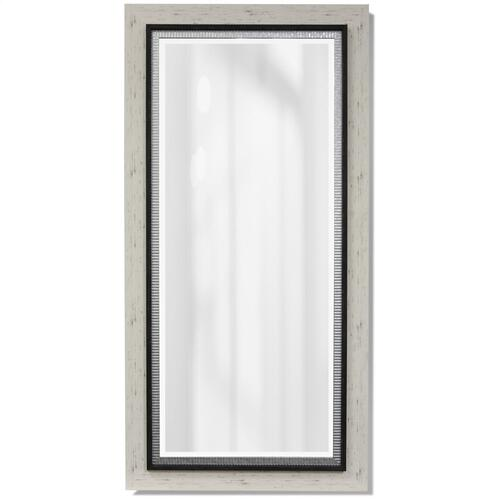 FRAMED MIRROR  34w X 68ht  Made in USA  Ready to Hang