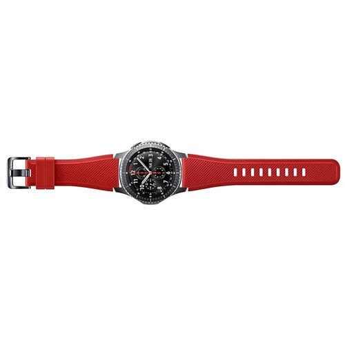 Samsung - Silicon Band (22mm) Orange Red