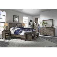 See Details - Tucker Queen Bedroom - Queen Bed, Dresser & Mirror