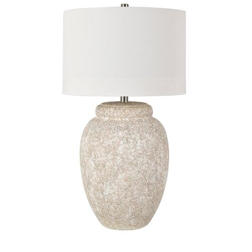 Dune Large Scale Textured Ceramic Table Lamp