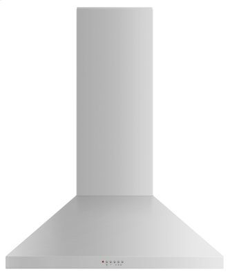"Wall Range Hood, 36"", Pyramid Chimney"