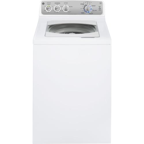 GE® 3.6 DOE cu. ft. stainless steel capacity washer