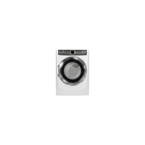 Electrolux - Front Load Perfect Steam Gas Dryer with Instant Refresh and 9 cycles - 8.0. Cu. Ft.