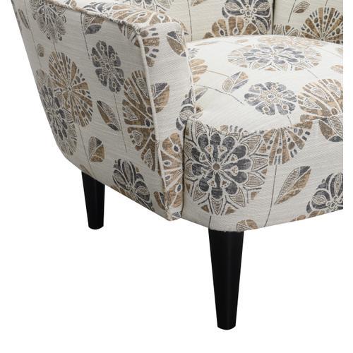 Flower Power Accent Chair, Cascade Mineral U3535-05-05