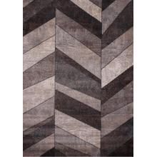 "Power Loomed Hand Carved Geometric Design Tara 306 Area Rug by Rug Factory Plus - 5'4"" x 7'5"""