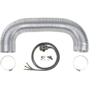 PetraElectric Dryer Duct Kit with 3-Wire 30-Amp 6ft Cord