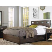 Riva Queen Storage Bed with Espresso Finish