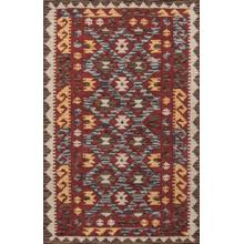 Tangier Tan-07 Red - 2.3 x 8.0 Runner