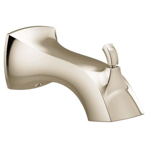 Voss polished nickel diverter spouts
