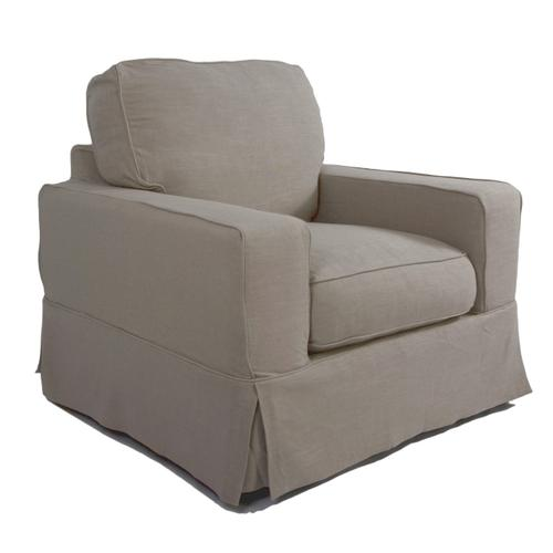 Americana Slipcovered Chair - Color: 220591