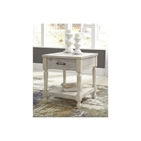 Shawnalore Rectangular End Table Whitewash