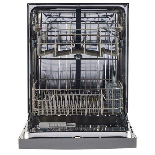 "GE 24"" Built-In Stainless Steel Tall Tub Dishwasher Stainless Steel GBF630SSLSS"