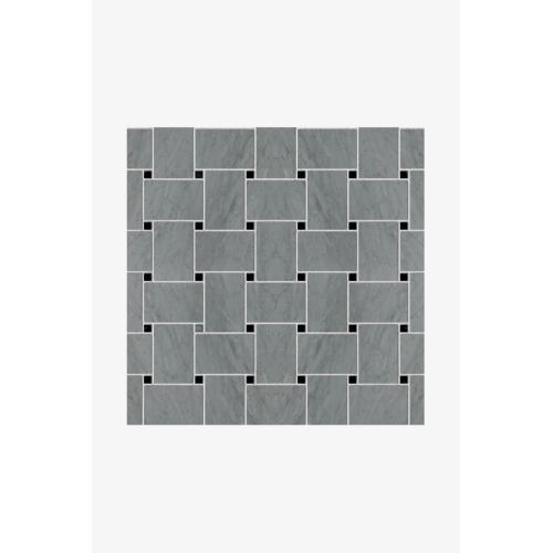 Luminaire 4cm x 6cm Basketweave Mosaic in Thassos