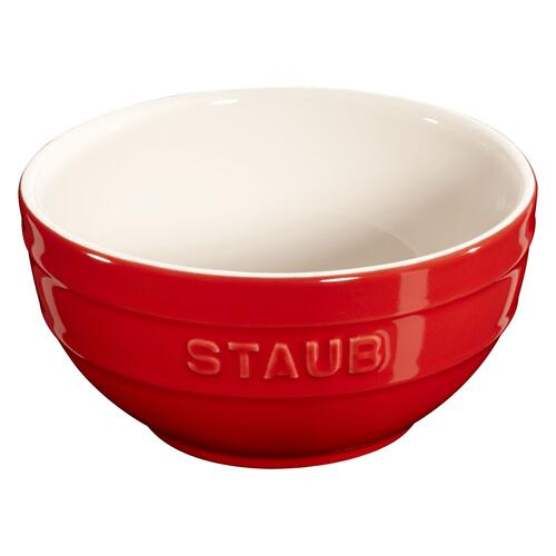 Staub Ceramique 4-pc, (no shape), Bakeware set, cherry