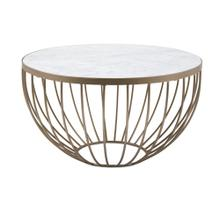 NK Marble Top Coffee Table