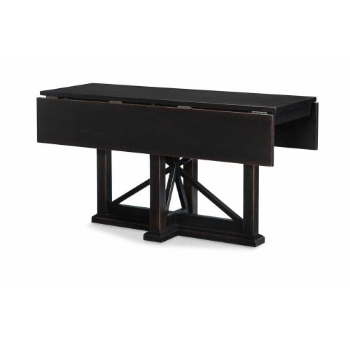 Drop Leaf Console Table - Peppercorn