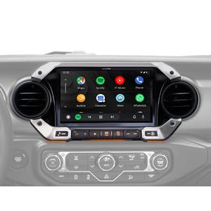 Alpine - 9-Inch Weather-Resistant Navigation System with Off-Road Mode for the New 2018 Up Jeep Wrangler and 2020 Jeep Gladiator