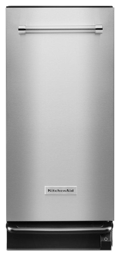 Kitchenaid1.4 Cu. Ft. Built-In Trash Compactor - Stainless Steel