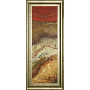 """""""Tierra Panel Il"""" By Patricia Pinto Framed Print Wall Art"""