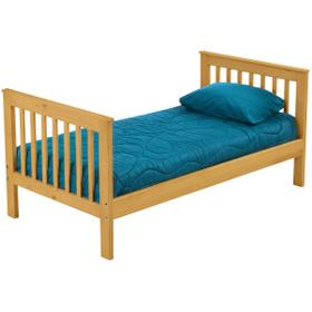 Tall twin lower bed, extra-long