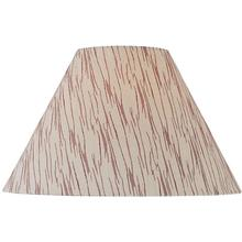 """Patterned Fabric Shade - 6""""tx16""""bx12""""sl"""