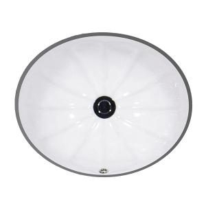 """White AVION Undermount Lavatory, 17"""" Product Image"""