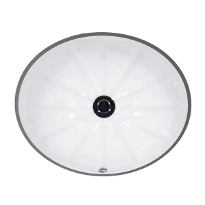 "White AVION Undermount Lavatory, 17"" Product Image"
